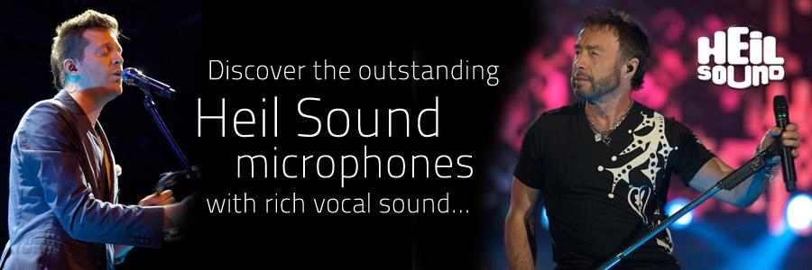 Heil sound microphones