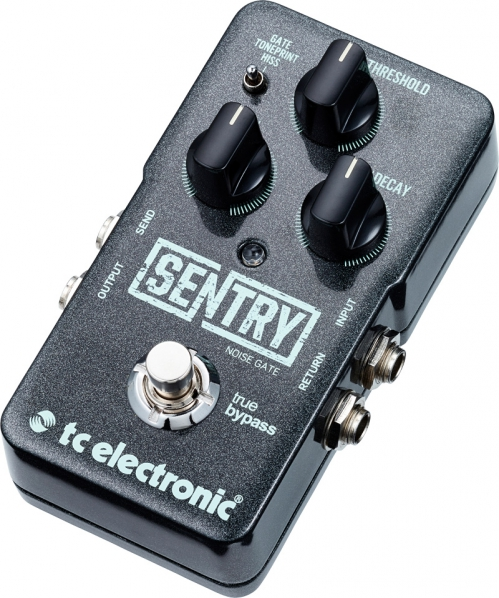 TC electronic Sentry Noise Gate guitar effect