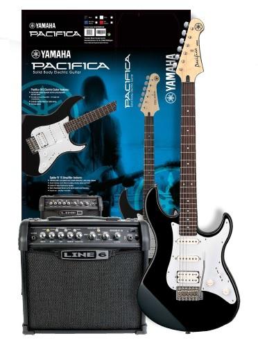 amaha pacifica 012 bl line 6 spider iv 15w electric guitar with amplifier set. Black Bedroom Furniture Sets. Home Design Ideas