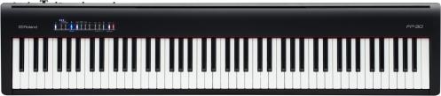 Roland FP-30 BK digital piano, black