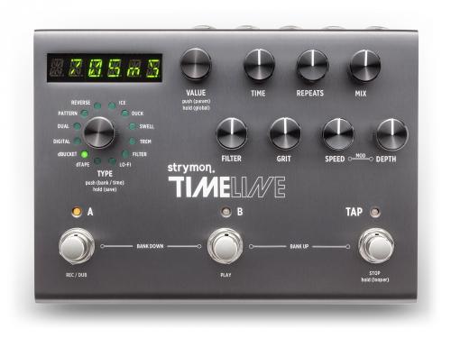 Strymon Timeline delay guitar effect