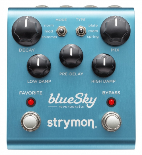 Strymon Blue Sky reverb guitar effect