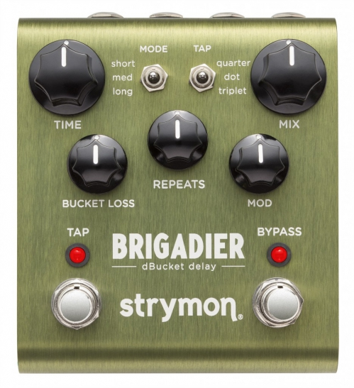 Strymon Brigadier delay guitar effect