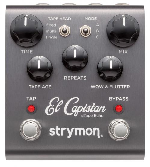 Strymon El Capistan delay guitar effect