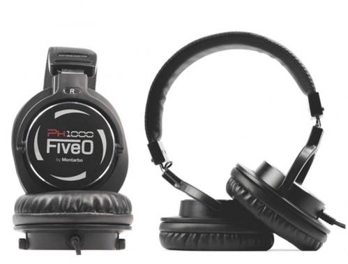 Five-O PH1000 studio headphones, closed