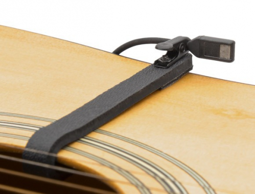 Countryman I2CH10XLR-GKIT miniature guitar microphone with clamp