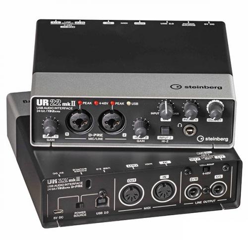 Steinberg UR 22 Mk2 USB 2.0 audio interface