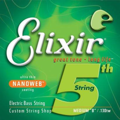 Elixir 15432 bass guitar strings 45-130TW