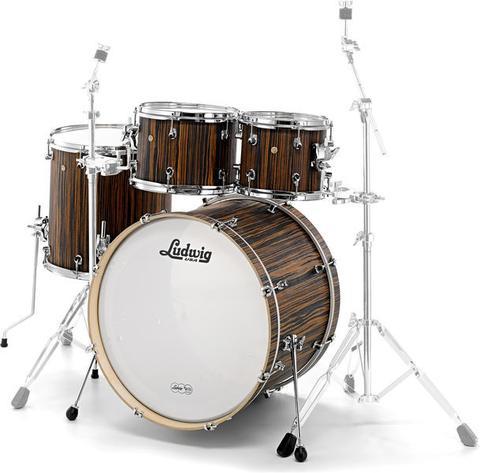 Ludwig Signet L22240XME Macassar Ebony drum kit