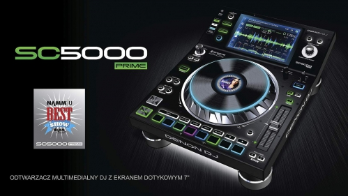 Denon DJ SC5000 PRIME - dj player (B-Stock)