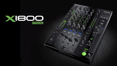 Denon DJ X1800 PRIME - Professional 4-channel DJ Club Mixer (B-Stock)