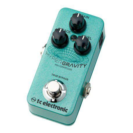 TC electronic HyperGravity Mini Compressor guitar effect