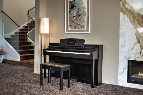 Yamaha CSP 150 Clavinova digital piano, black