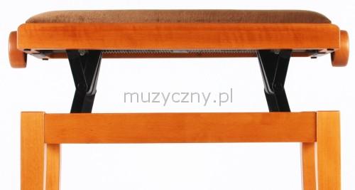 Akmuz Adjustable Piano Stool Cherry