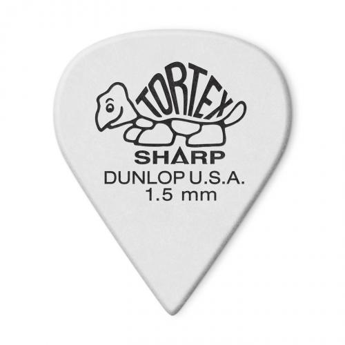 Dunlop 412P Tortex Sharp guitar pick 1.50mm