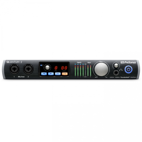 Presonus Quantum 2 22x24 Thunderbolt Audio Interface