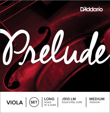 D′Addario Prelude J-910 LM viola strings