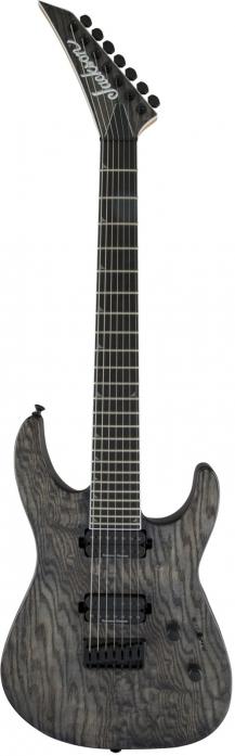 Jackson Pro Series Soloist SL7 HT, Ebony Fingerboard, Charcoal Gray electric guitar