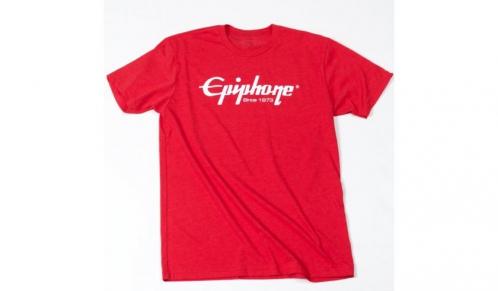 Epiphone Logo T Red T-Shirt, Medium