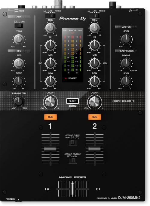 Pioneer DJM-250 MK2 DJ mixer