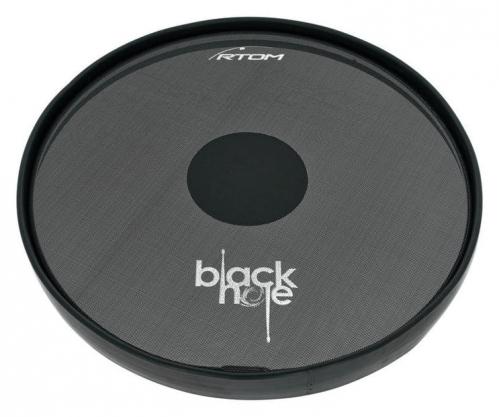 RTOM Black Hole Snap-on Mesh Bass Drum Practice Pad 14