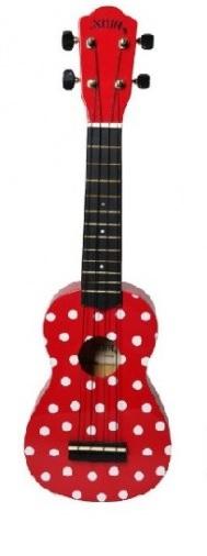 Noir NU1S Ladybug soprano ukulele