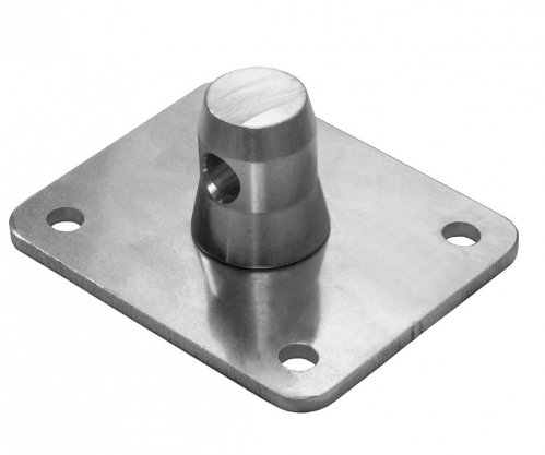 DuraTruss DT 30/40-BPM-BW Base plate for blue wheel DT-31, DT-32, DT-33, DT-34