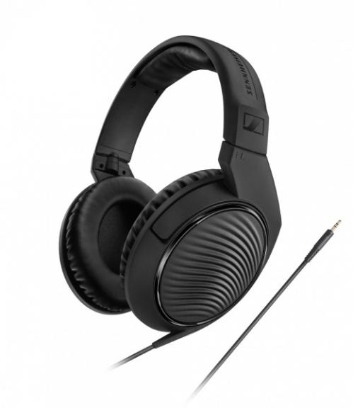 Sennheiser HD-200 PRO headphones closed