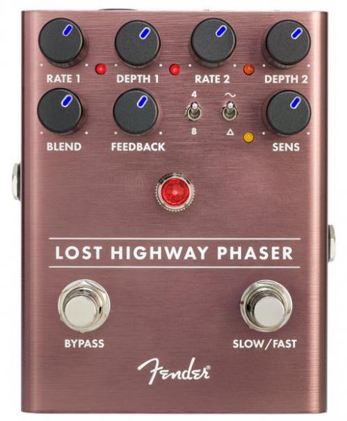Fender Lost Highway Phaser guitar effect