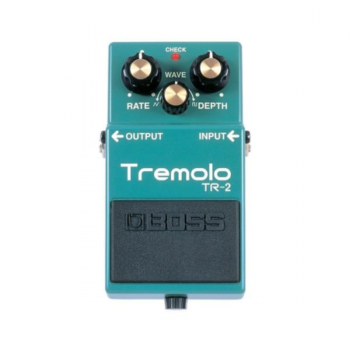 BOSS TR-2 Vintage Tremolo guitar effect pedal