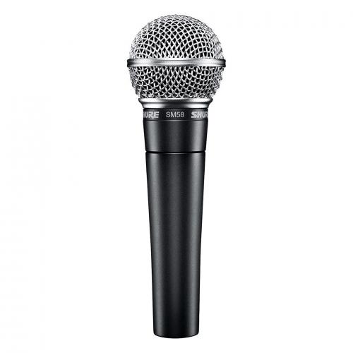 Shure SM 58 LCE dynamic microphone