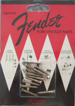 Fender Pure Vintage Strap Button Mounting Screws