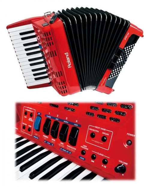 Roland FR 1 x Red akordeon cyfrowy