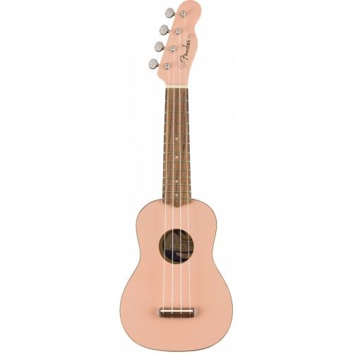 Fender Venice Shell Pink soprano ukulele