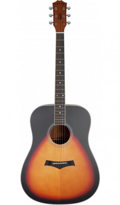 Arrow Bronze SB Sunburst acoustic guitar