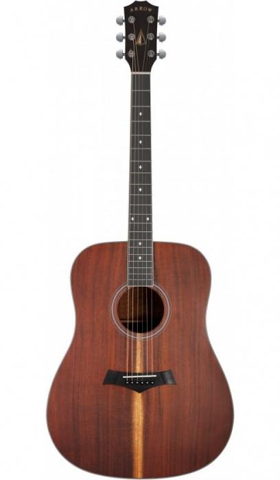 Arrow Silver KOA acoustic guitar