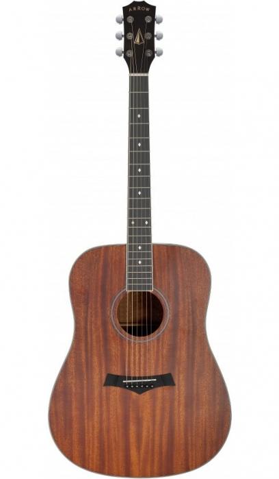 Arrow Silver MH Mahogany acoustic guitar
