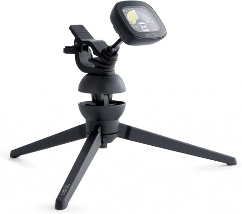 Ernie Ball 4113 Cradle Tune guitar clip-on tuner with tripod neck cradle