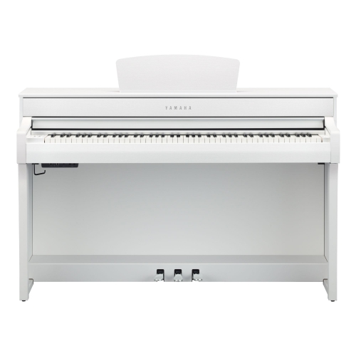 Yamaha CLP 735 WH Clavinova digital piano, white