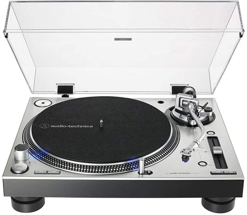 Audio Technica LP140XP SV turntable, silver