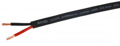 4Audio LS2250 proffesional speaker cable 2x2,5mm