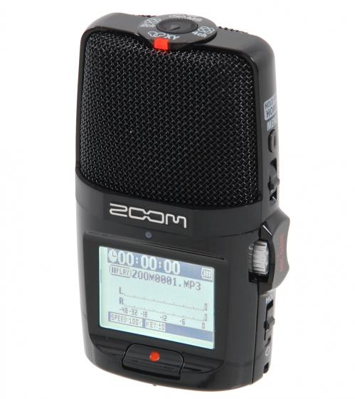 ZooM H2n digital recorder + 2GB SD Card
