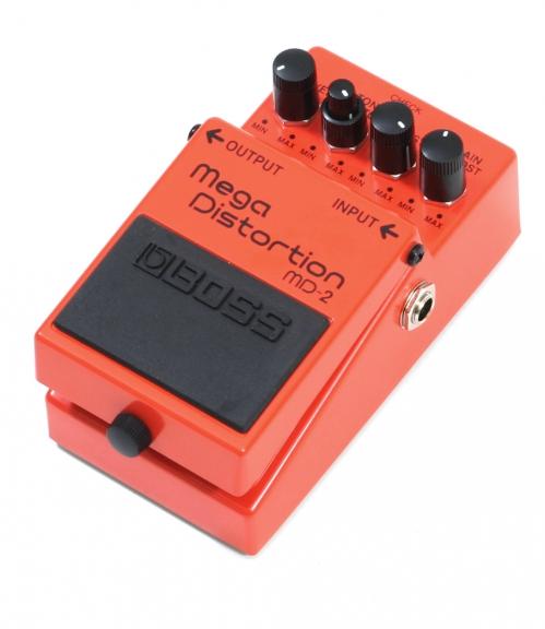 BOSS MD-2 Mega Distortion guitar effect pedal