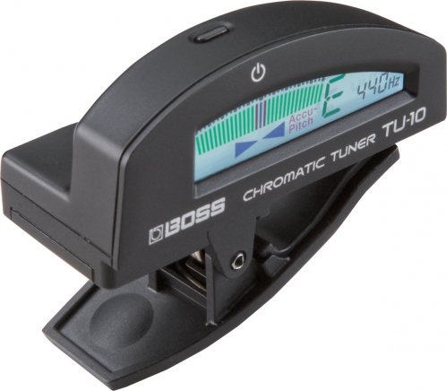 BOSS TU-10 BK chromatic tuner