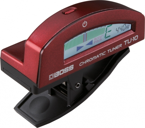 BOSS TU-10 RD chromatic tuner