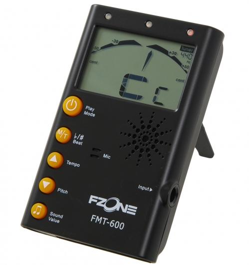 Fzone FMT-600BK Tuner & Metronome (black)