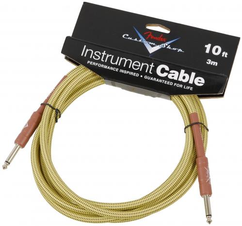 Fender Custom Shop Tweed guitar cable 3m