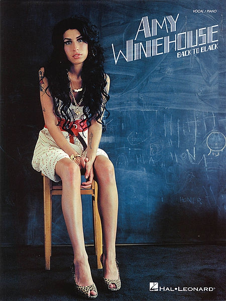 PWM Winehouse Amy - Back to black (for piano, vocal, guitar)