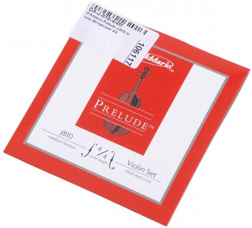 D′Addario Prelude J-810 violin strings 4/4