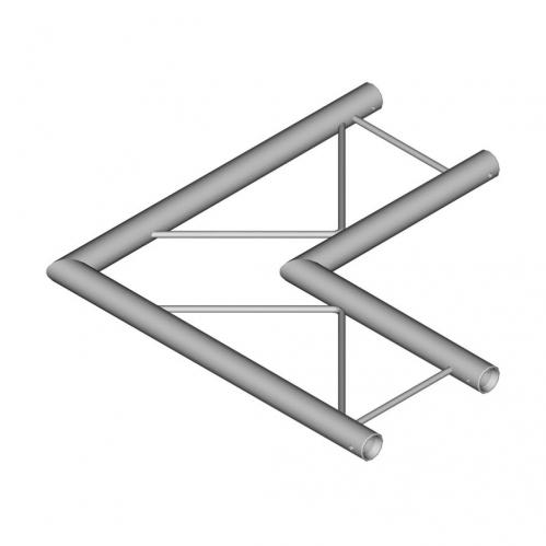 DuraTruss DT 22 C21H-L90 90° Corner 50cm Aluminum Trussing